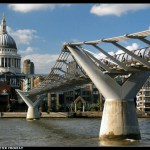 Millenium Bridge en Londres