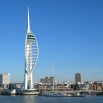 la Spinnaker Tower en Portsmouth
