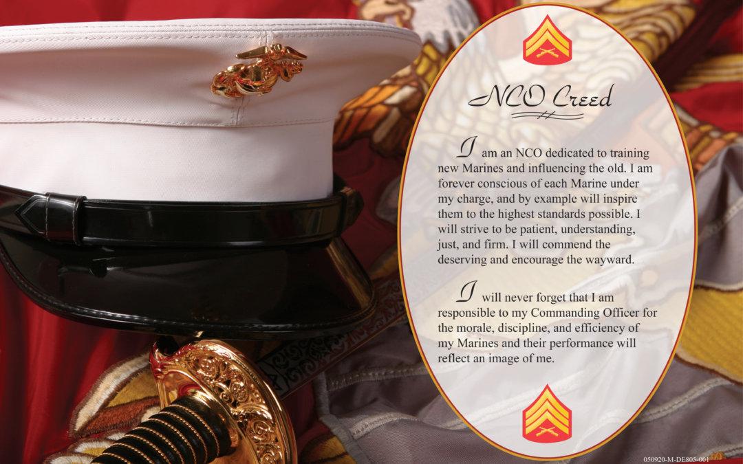 US Marine NCO Creed Devil Dog Shirts Marine Corps Challenge Coins