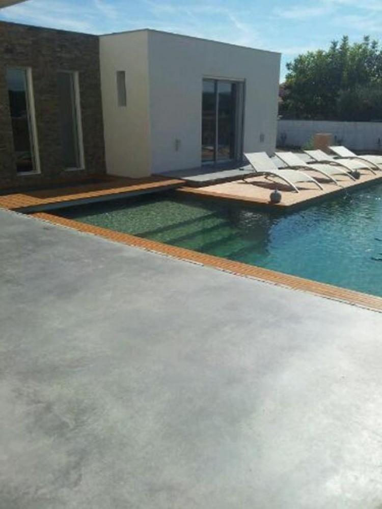 Prix moyen d\u0027une plage de piscine et matériaux de fabrication - Faire Une Terrasse En Beton Cire