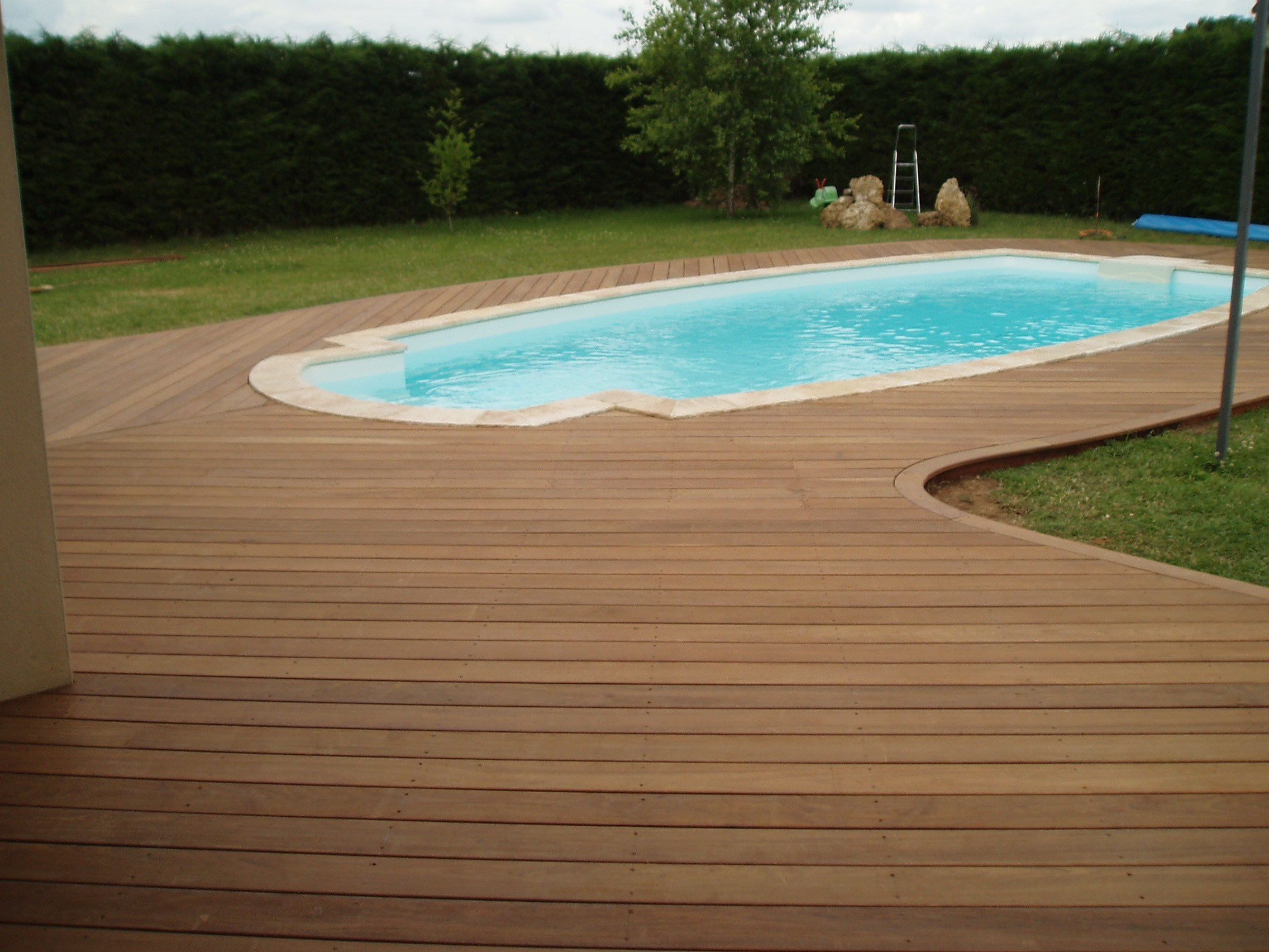 Photo Amenagement Terrasse Piscine Terrasse De Piscine En Bois Quel Budget Prévoir Et