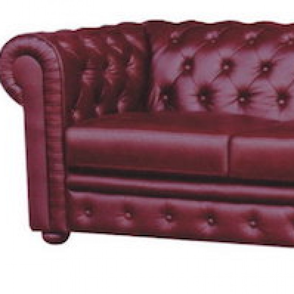 Leather Lounge Sheffield Chesterfield Leather Sofa 315