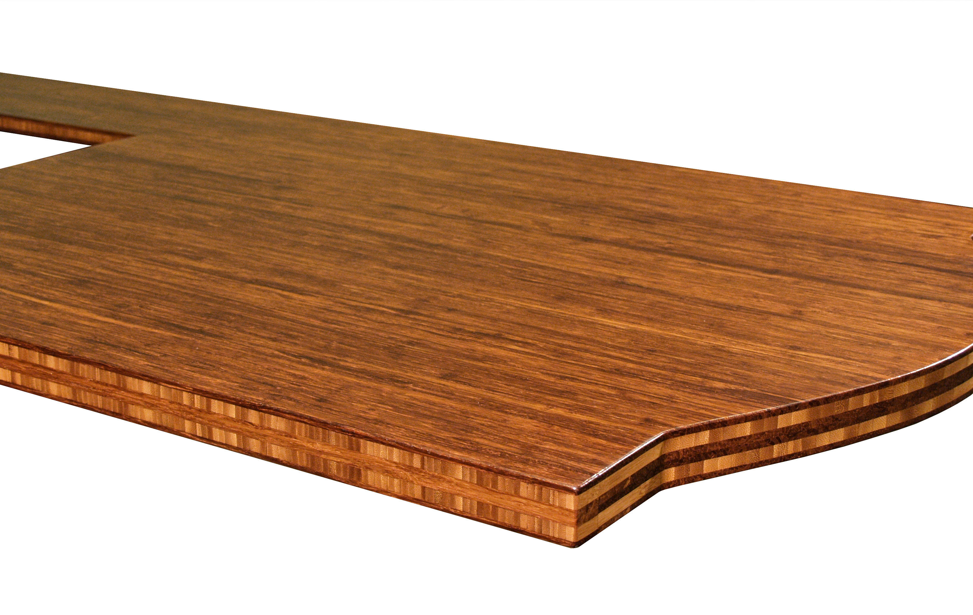 Bamboo Island Countertop Bamboo Wood Countertop Photo Gallery By Devos Custom Woodworking
