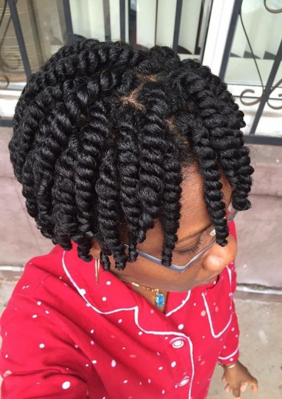 Natural Hair Styles Short Hair 4c Twist Hairstyles For Natural Hair