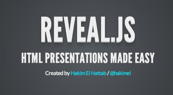 top best html5 and javascript presentation framework - revealjs