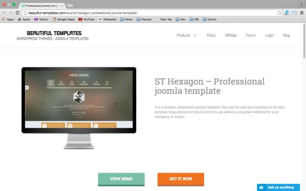 best free joomla templates for 2015  - Best joomla template8