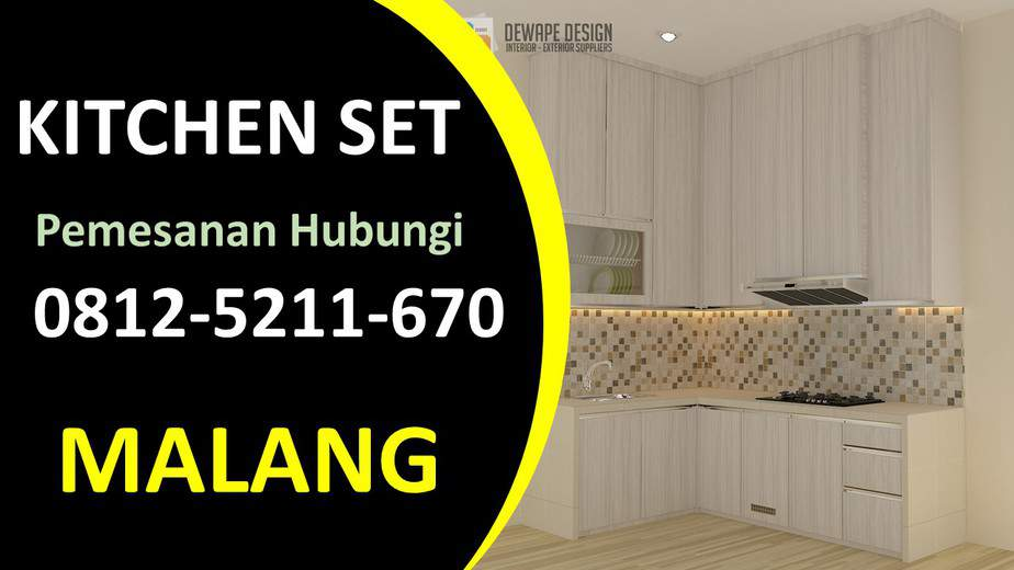Jual Kitchen set hpl malang