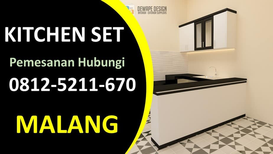 kitchen set elegan malang, Kitchen set malang