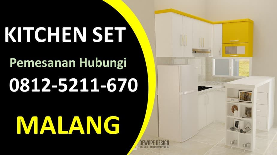 Tukang kitchen set Malang, Kitchen Set Malang