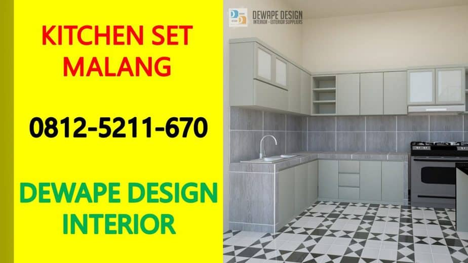 kitchen set dapur malang, kitchen set malang