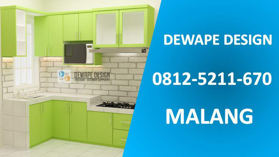 Kitchen Set Custom Malang
