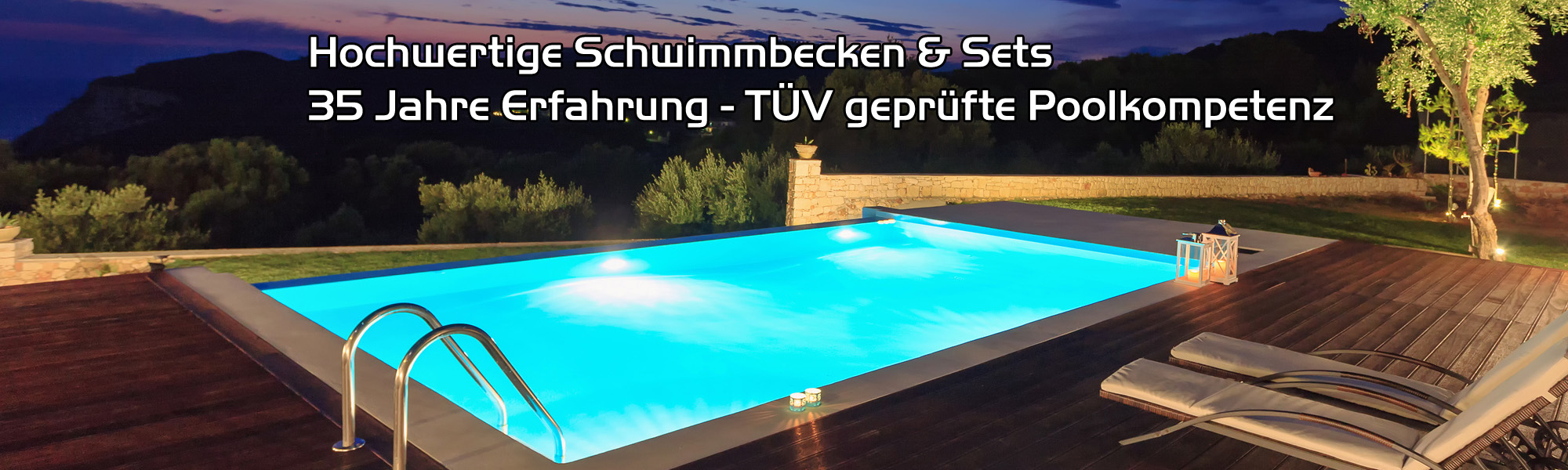 Pool Komplettset Einbau Dewo Team Pooltechnik Pools Günstig Dewo Team Pooltechnik