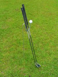 Golf Club Holder Stand Caddie - The DEWSTICK - Home