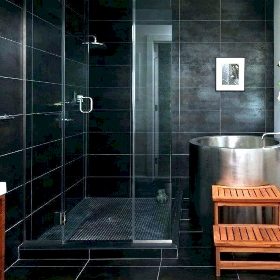 12 Awesome Black Shower Tile Ideas For Bathroom Inspiration Dexorate