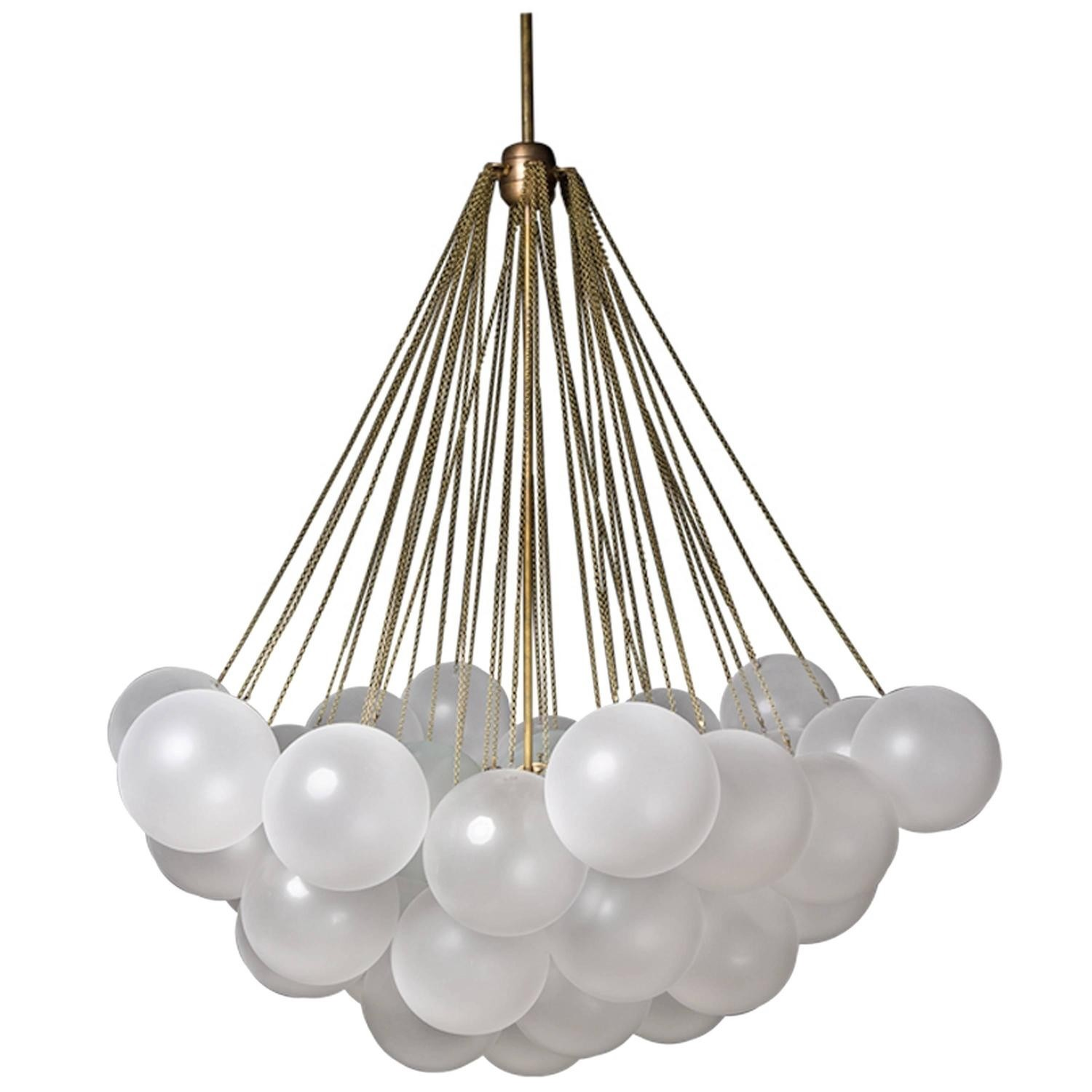 Lustre Contemporain Design Lustre Contemporain Cloud 37 Design Par Apparatus Une Lampe