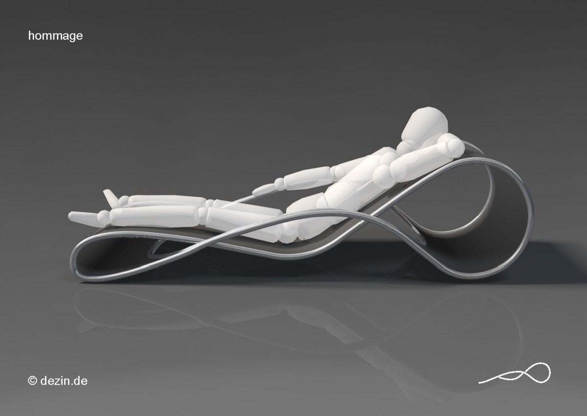 Hommage Design Chaise Lounge Dezin Deniz Aktay Furniture Novum Buche ...