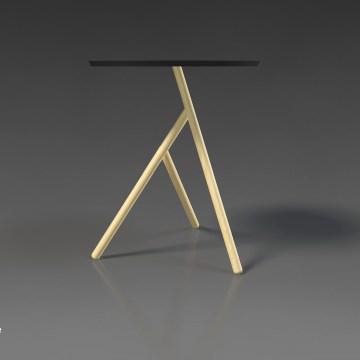 tango design coffee table wood bedside side deniz aktay