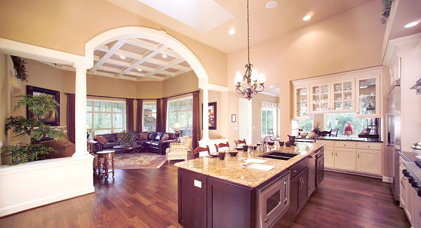 kitchen great room share large open floor plan kitchen house plans beautiful large gourmet kitchen house plans large