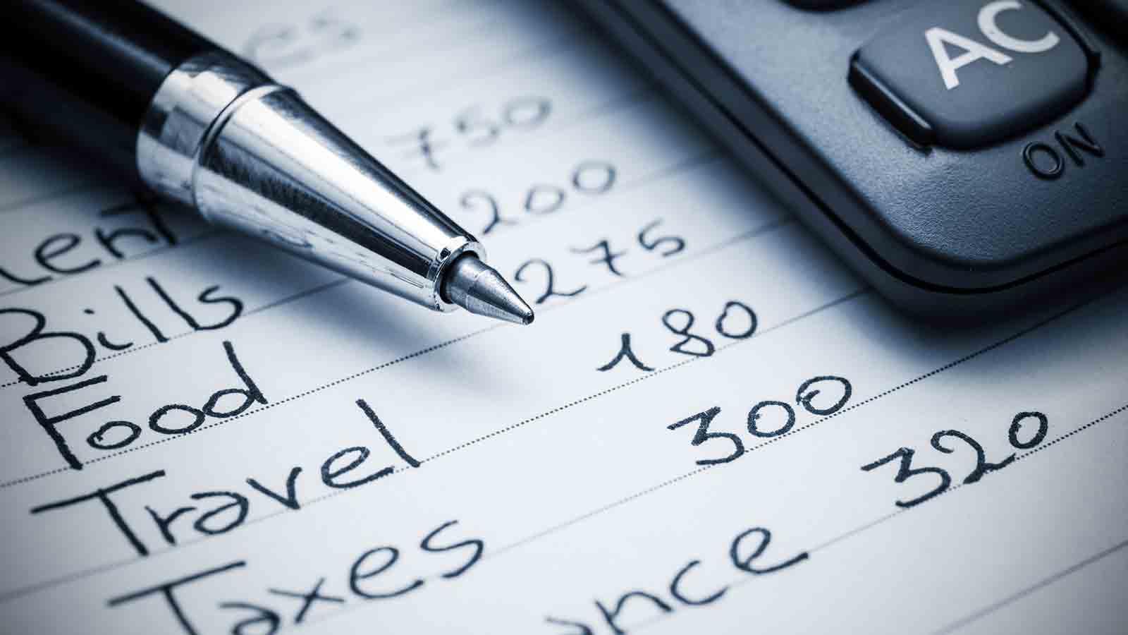 travel expenses calculator
