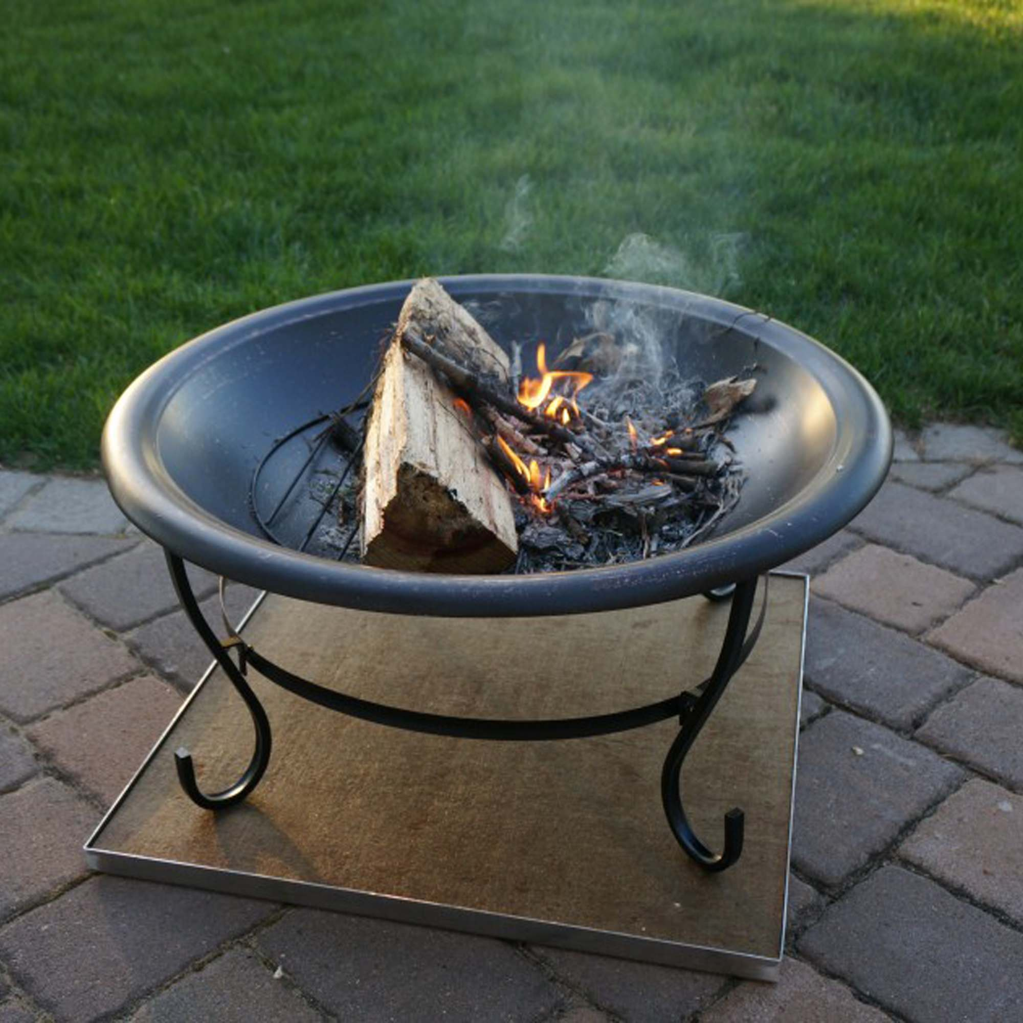 Deck Protect 36quot X 36quot In Fire Pit Chiminea Deck