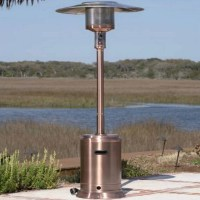 Fire Sense Copper Commercial Patio Heater | DFOHome