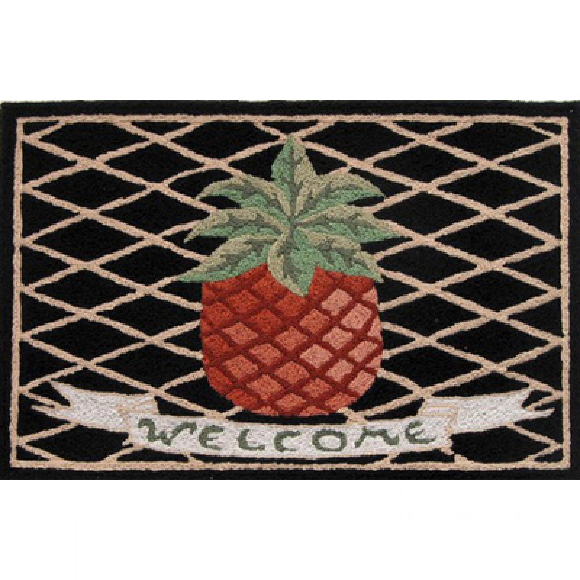 Jb Lighting Usa Shop Jellybean Pineapple Welcome Outdoor Door Mat