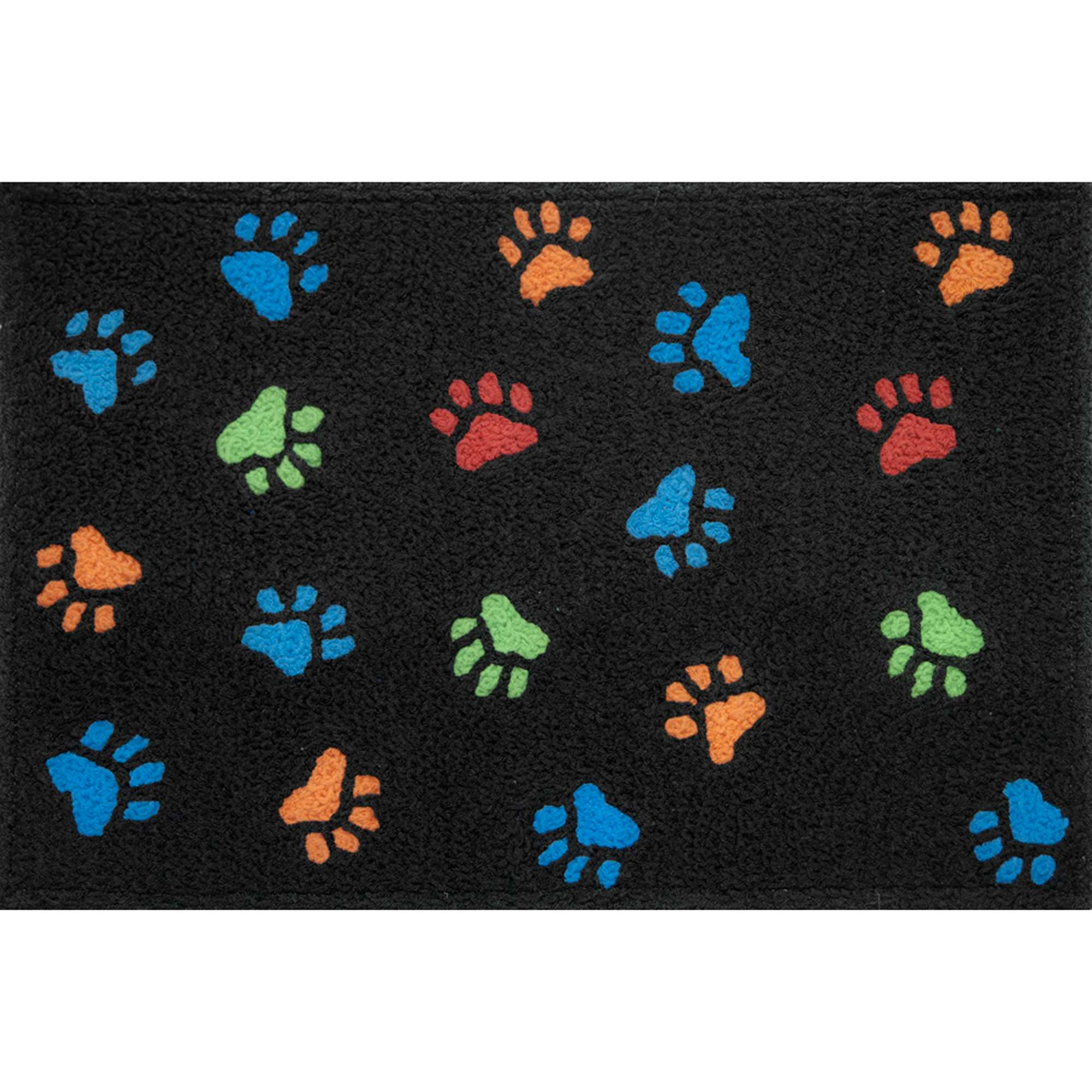 Dog Door Mats Outdoor Shop Jellybean Paw Prints Outdoor Door Mat Jellybean