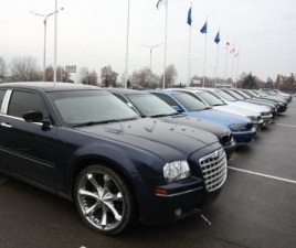 black cars - interior ministry