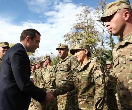 irakli alasania - soldiers