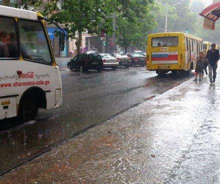 heavy rain in Tbilisi 2013-06-27