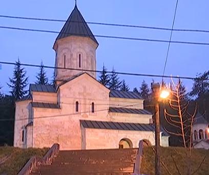 monastery_rustaveli_street_in_kvareli