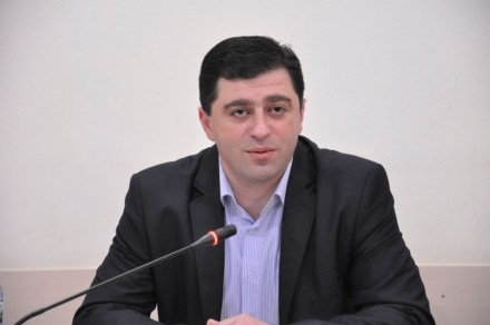 Mamuka Akhvlediani, a former member of the High Council of Justice.