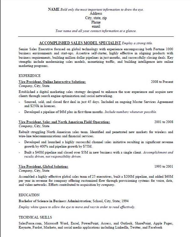 best resume template for ats