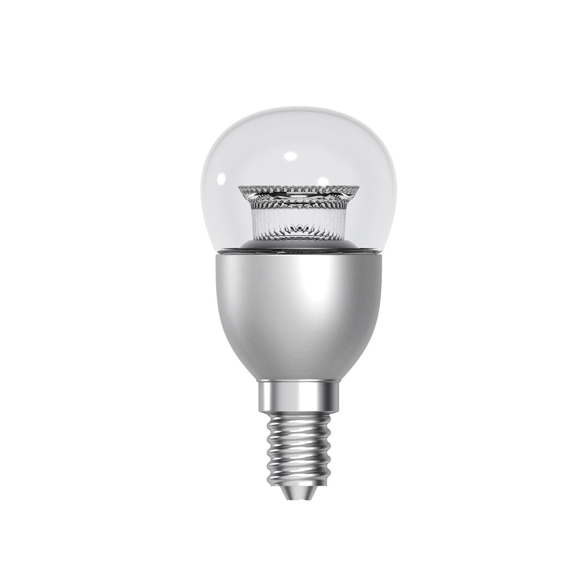 Led E 14 Tungsram Bulb Led E14 Globe Crown Deco 6w 40w Equivalent Eec A