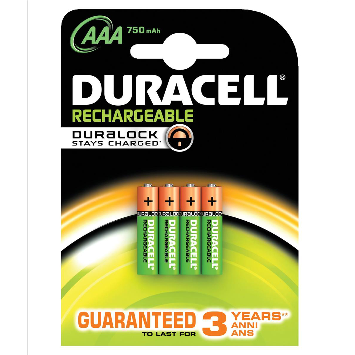 Accu Rechargeable Duracell Battery Rechargeable Accu Nimh 750mah Aaa Ref 81364750