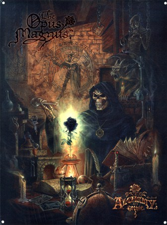 Awesome 3d Art Wallpaper The Opus Magnus Alchemy Gothic Tin Sign Buy Online