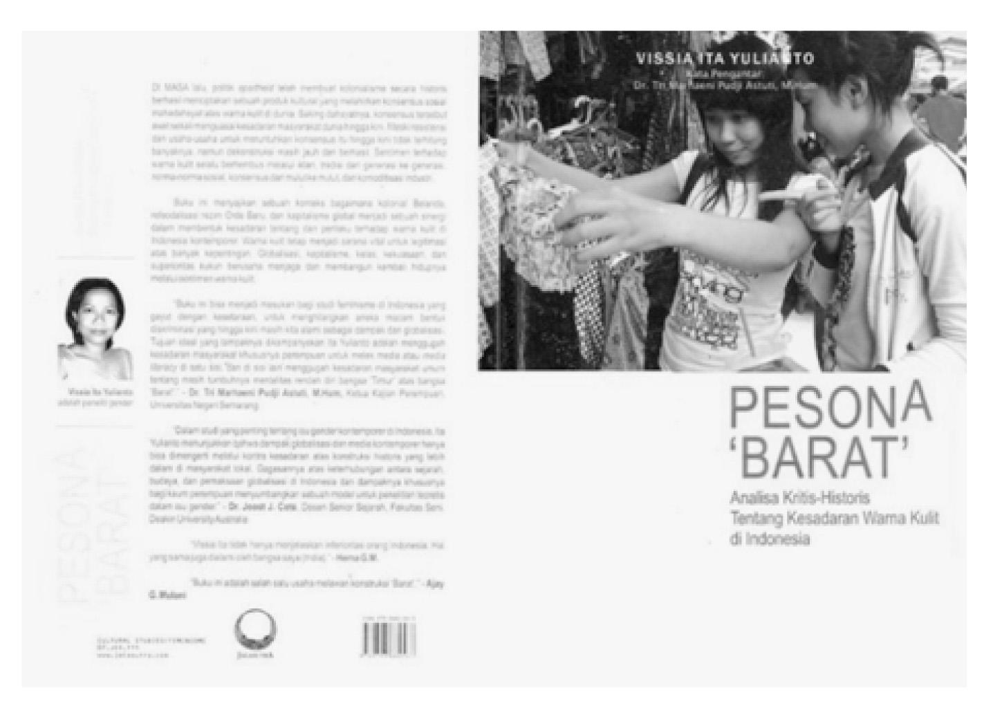 """Sampul buku """"Pesona 'Barat'""""  (Sumber: Widyatmoko)"""