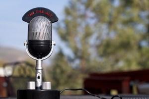 Radio Mic Old Fashioned
