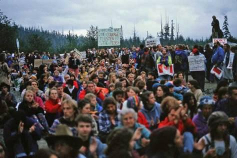 Clayoquot Sound, 1993