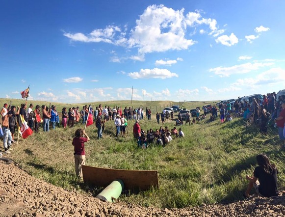 Standing Rock Sioux Tribe and IITC file an Urgent Communication to the United Nations Citing Human Rights Violations Resulting from Pipeline Construction