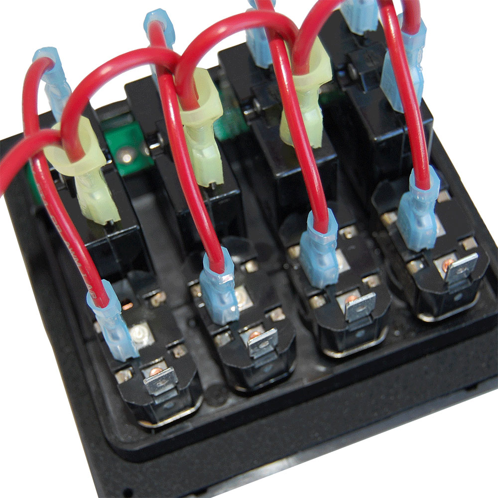 12 Volt Led Weatherdeck® 12v Dc Waterproof Circuit Breaker Panel