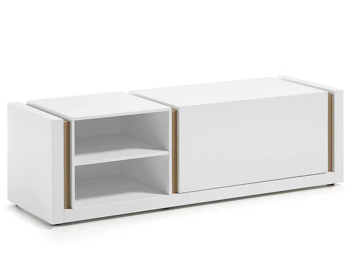 Mueble Television Blanco Modelo Connor