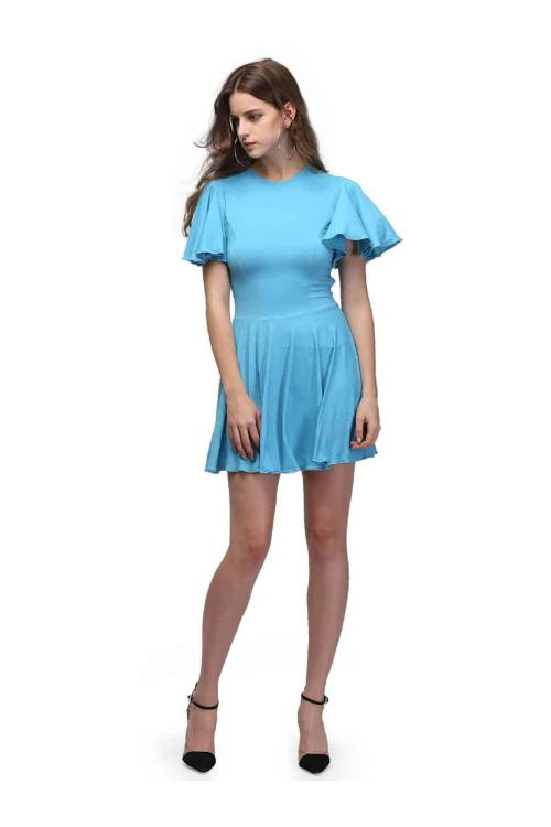 Medium Of Powder Blue Dress