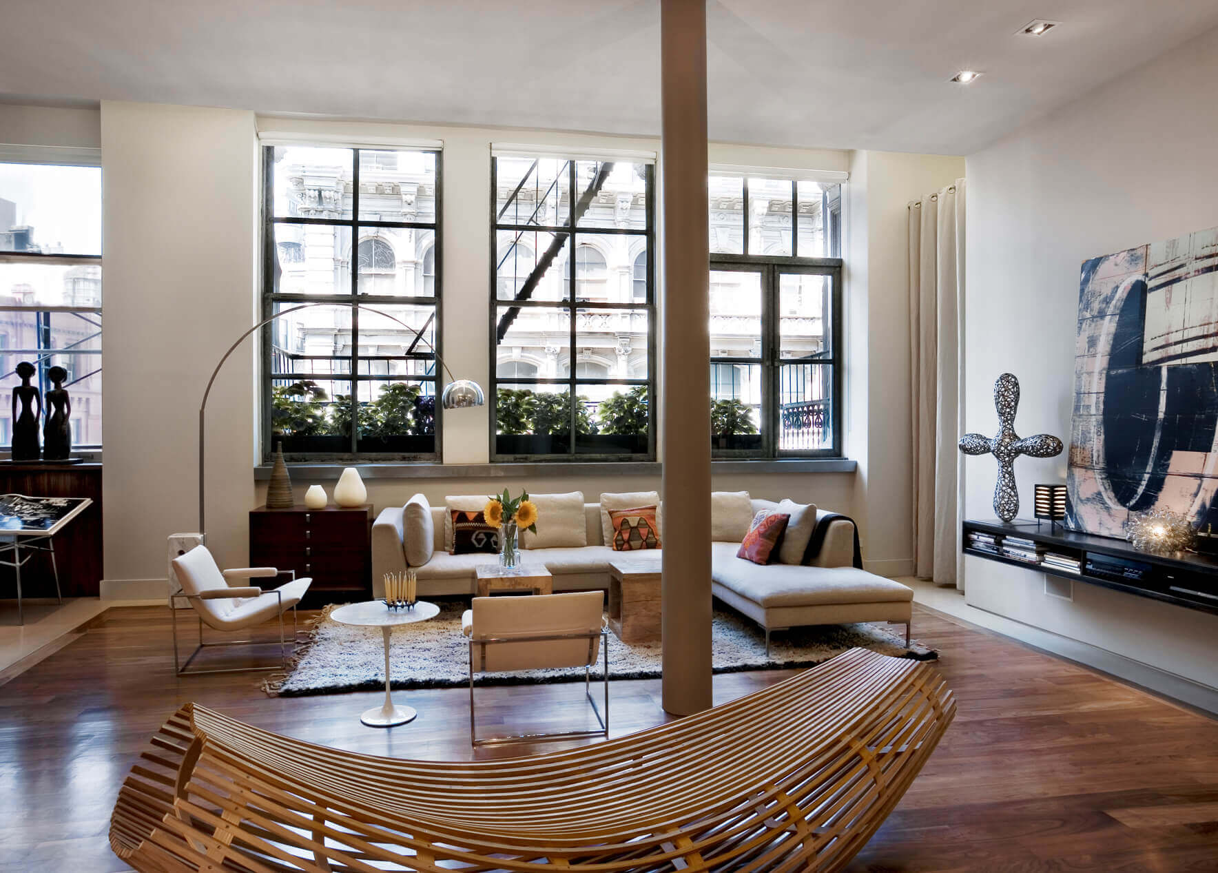 Im Wohnzimmer It S All About Interior Pinterest Living Room Union Square Loft Dhd Architecture And Interior Design