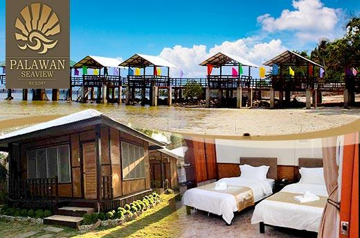 Toddler With Baby 40 Off Palawan Seaview Resort 39;s Accommodation Promo