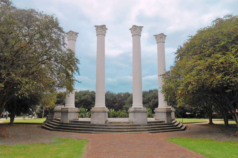 Corinthian Columns in Charleston, by Disher, Hamrick  Myers Real Estate