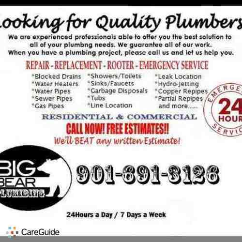 Big Bear Plumbing - Plumber in Memphis, TN MeetAPlumber