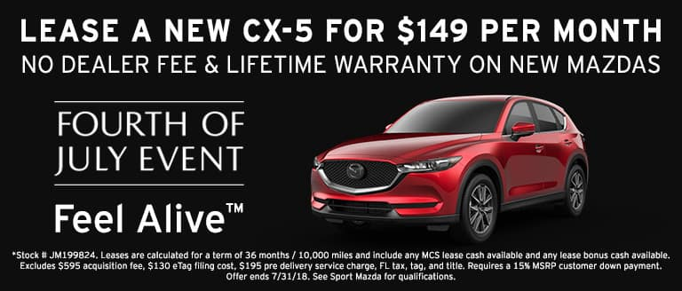 New Mazda CX-9 in Orlando Sport Mazda - ten terms to include in your lease