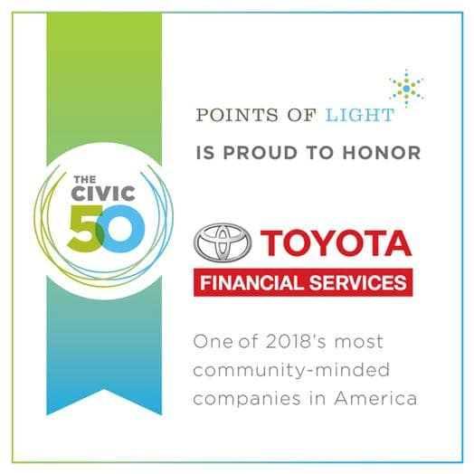 Toyota Financial Services is Community-Minded Wilde Toyota