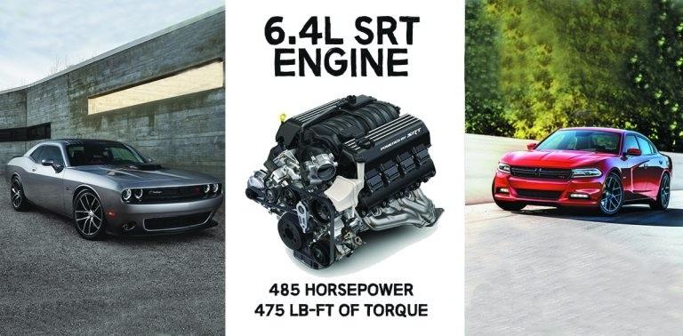 Dodge Gearhead 64L SRT Engine Performance Specs